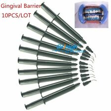10pcs Professional Teeth Whitening Gingival Barrier Gum Protector Gel with Nibs