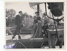 Tyrone Power Director Henry King VINTAGE Photo Prince Of Foxes candid on set