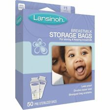 Lansinoh Breastmilk Storage Bags, 50 Count,BPA Free and BPS Free by Lansinoh AOI