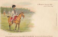 Militare, Inspectors. Bayer. esercito, 2. Dragone reggimento per 1905/10