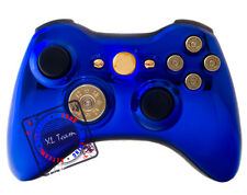 XBOX 360 RAPID FIRE MODDED CONTROLLER COD GHOSTS AW BLACK OPS 3 CHROME BLUE