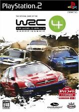 Used PS2 WRC 4 SONY PLAYSTATION JAPAN IMPORT