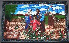 WALL HANGING RELIGIOUS FAMILY JESUS JOSEPH AND MARY tapestry