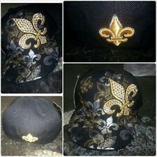 New Orleans Fitted Baseball Cap Saints fleur-de-lis fleur-de-lys baseball Hat