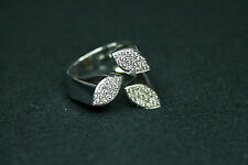 18CT WHITE GOLD RING WITH DIAMONDS - 0,34KTS!!!