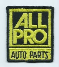 All Pro Auto Parts truck driver patch 3-1/8 X 2-1/2