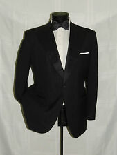 Vintage Classic 1 button peak Lord West Men's formal tuxedo coat pant 40 R