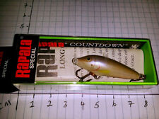 RAPALA COUNTDOWN SPECIAL LONG CAST (LIPLESS)  LC - 3 -POS - MADE IN FINLAND