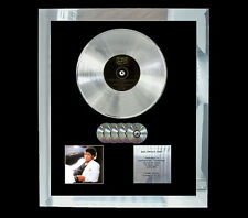 MICHAEL JACKSON THRILLER MULTI (GOLD) CD PLATINUM DISC FREE SHIPPING TO U.K.