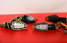 4 X weisse LED Mini-Blinker BMW K 1200 S/K 1300 S clear LED signals indicator