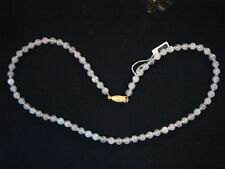 COLLIER DE PERLES EN QUARTZ ROSE VINTAGE 70 NEUF 53 CM/NECKLACE OLD NEW VINTAGE