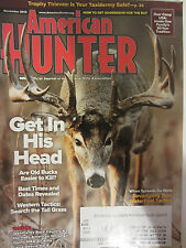 American Hunter Magazine November 2013 Trophy Thieves Is your Taxidermy Safe?