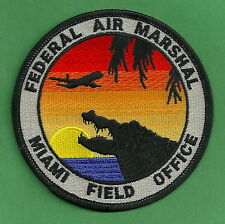 UNITED STATES FEDERAL AIR MARSHAL MIAMI FIELD OFFICE POLICE PATCH