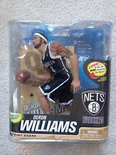 DERON WILLIAMS BROOKLYN NETS CHASE BLACK JERSEY BASKETBALL MCFARLANE FIGURE RARE