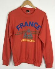 VINTAGE RETRO LE COQ SPORTIF 90s SWEATER SWEATSHIRT SPORTS JUMPER RENEWAL UK M