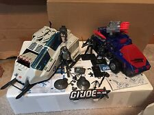 GI-Joe 50th Cobra Vehicle & Figure Lot Decals Pro Applied Loose!