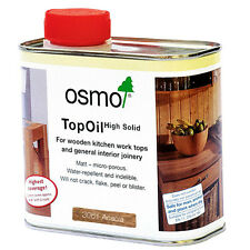 Osmo TOP OIL 3061 ACACIA for Kitchen Wooden Worktops Internal Joinery 500ml