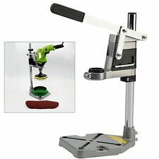 Drill Bench Press Stand plunge power Tool Workbench Pillar Pedestal Clamp UK
