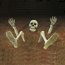 HALLOWEEN Skeleton Ground Breaker Decoration prop Skull Bones GARDEN LAWN SIGN