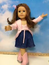 MY AMERICAN GIRL doll Just Like You #23 BROWN hair BLUE eyes freckles (6)