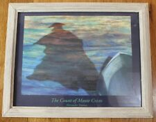 Nautical Picture Tropical The Count of Monte Cristo Ocean Beach Framed Wall Art