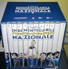 OPERA BOX COFANETTO 12 DVD LE PARTITE INDIMENTICABILI DELLA NAZIONALE ITALIA