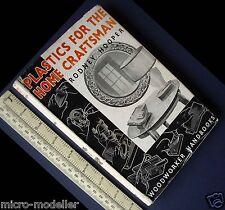 1953 plastica per la casa artigiano. VINTAGE con libro di hobby. molto interessante