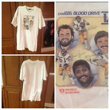 RARE! XL X-Large SAN DIEGO CHARGERS T-Shirt Dan Fouts phillip rivers...