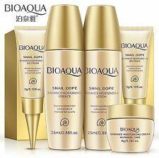 BIOAQUA 5PCS Snail Extract Skin Care Kits Serum Lotion Toner BB Cream Eye Cream