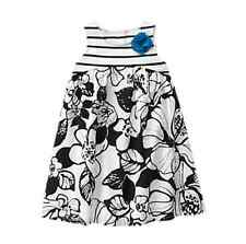 *NEW* GYMBOREE LITTLE GIRLS SIZE 2T ISLAND HOPPER BLACK FLORAL STRIPED DRESS