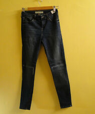 TopShop Moto 'Leigh' Vintage Ripped Jeans 02L10GMDT /Mid-Wash /W26.
