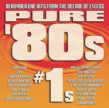 (CD) Pure '80s #1s - 18 Number One Hits