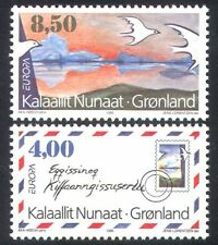 Greenland 1992 Europa/Peace/Freedom/Doves/Letter/Birds/Post/Mail 2v set (n38622)