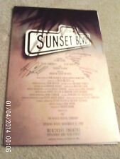 "1994 GLENN CLOSE SIGNED, ""SUNSET BOULEVARD"" 22"" X 14""  Poster, ALAN CAMPBELL,"