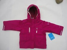 NWT COLUMBIA CHIC TO PEAK JACKET TODDLER GIRLS 2T PINK COAT REVERSIBLE LINER