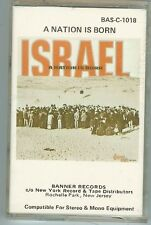 ISRAEL - A NATION IS BORN - ISRAEL - CASSETTE - NEW