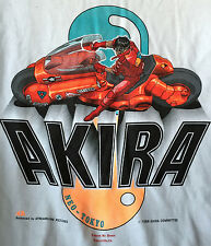 AKIRA VINTAGE CLOTHING LICENSED1989 ADULT M T-SHIRT ANIME FASHION RARE CYBERPUNK