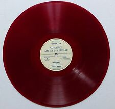 """LORRY RAINE 78rpm 10"""" Two Cigarrettes in the dark/ Indescreet RED VINYL pop  w16"""