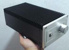 Unilateral Heatsink Aluminum Case DIY Enclosure Vertical Chassis Amplifier Box