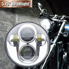"5.75"" Motorcycle LED Headlight Daymaker Projector Hi/Lo Lamp For Harley Davidson"