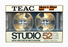 TEAC Studio 52/G metal tape & metal reel vintage audio cassette blank new!