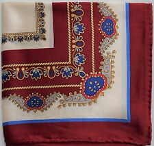 NWOT Men's 100% Silk Pocket Square Pochette Handkerchief