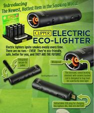 Clipper RECHARGABLE ELECTRIC ECO-LIGHTER - Does NOT use BUTANE, GAS or FLUID!