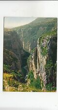 BF31620 grand canon du verdon belvedere du maugue   france front/back image