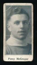 1924-26 V128 Paulin's Candy #50 PERCY McGREGOR (Fort William-MSHL)