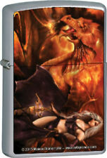 Rare Authentic RENEE BIERTEMPFEL Dragons Keeper ZIPPO LIGHTER