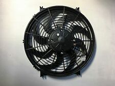 14 INCH 12v LOW PROFILE HIGH PERFORMANCE THERMO FAN 280w free shipping