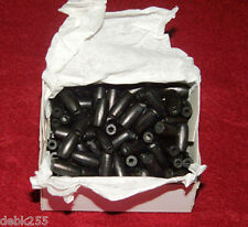 1/2 inch Black Horn Beads  Box of 100 for Native American Crafting & Jewelry