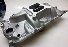 "Edelbrock 7161 Performer RPM Intake Manifold Chevy 396-502"" Big Block oval port"
