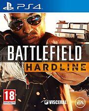 BATTLEFIELD HARDLINE PS4 NEUF EN FRANCAIS - ENVOI RAPIDE DE FRANCE